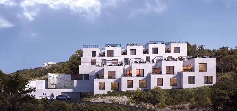 Spanien Benahavis moderne Stadthäuser  - 05