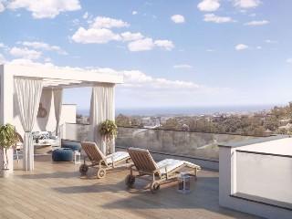 Spanien Benahavis modernes Neubauprojekt