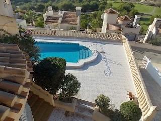 Spanien Las Ramblas  de Campoamor Villa am Golfplatz mit Pool
