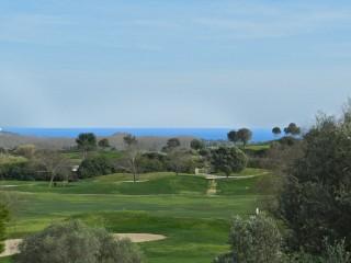 Spanien, Mallorca, Golfimmobilie mit Blick auf das Fairway