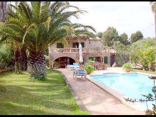 Spanien, Mallorca, Golfvilla mit Pool
