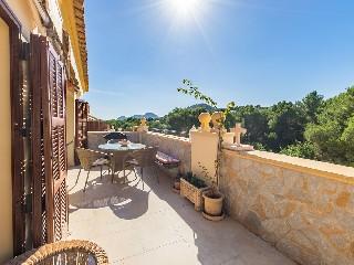 Spanien, Mallorca, Penthouse in Golfplatznähe