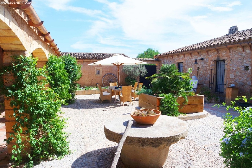 Spanien, Mallorca, sanierte Ölmühle nah am Golfplatz - 01