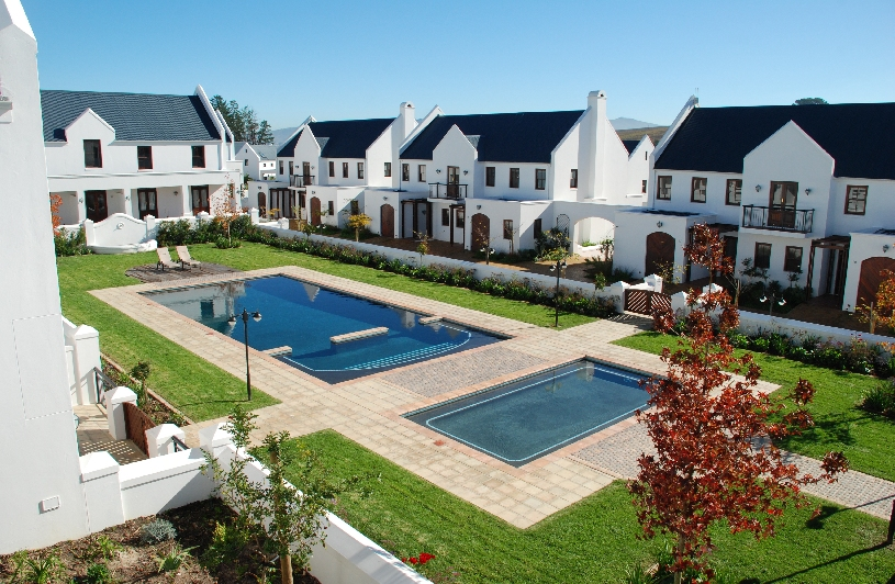 Stellenbosch: Luxus Golf Lodge am De Zalze Course 1 SZ - 07