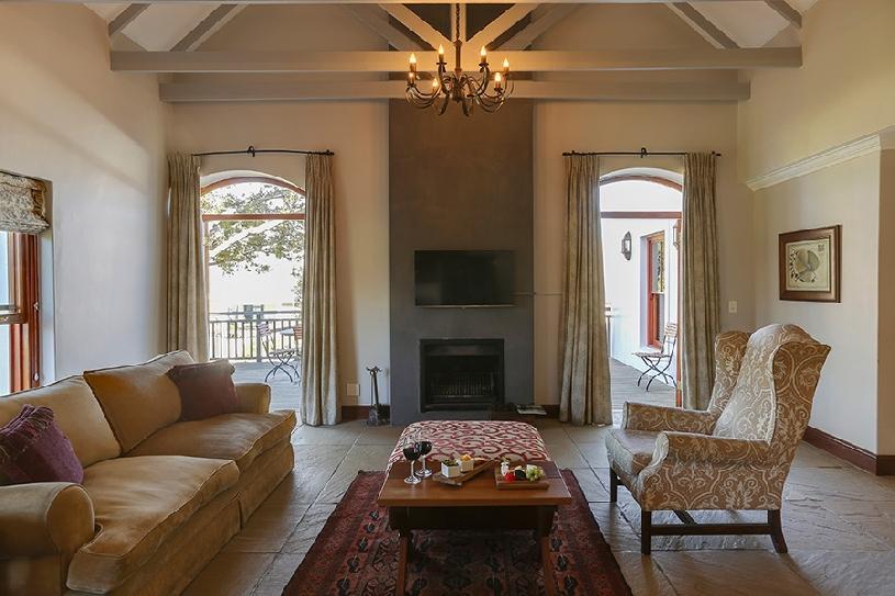 Südafrika Stellenbosch DeZalze Luxury Family Suite - 03