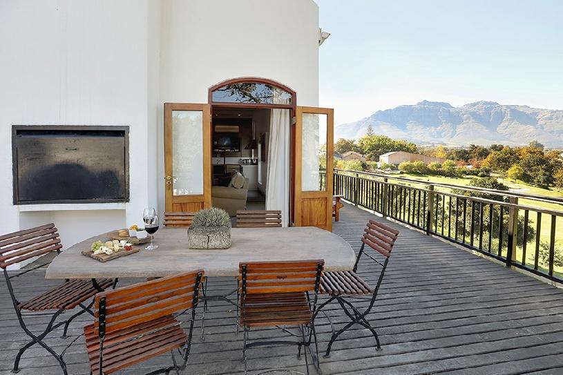 Südafrika Stellenbosch DeZalze Luxury Family Suite - 05