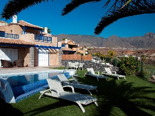 Teneriffa Costa Adeje Golf Villa 3SZ privater Pool