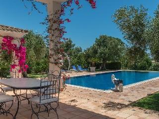 Spanien Andalusien Golfvilla mit Fairway Panorama